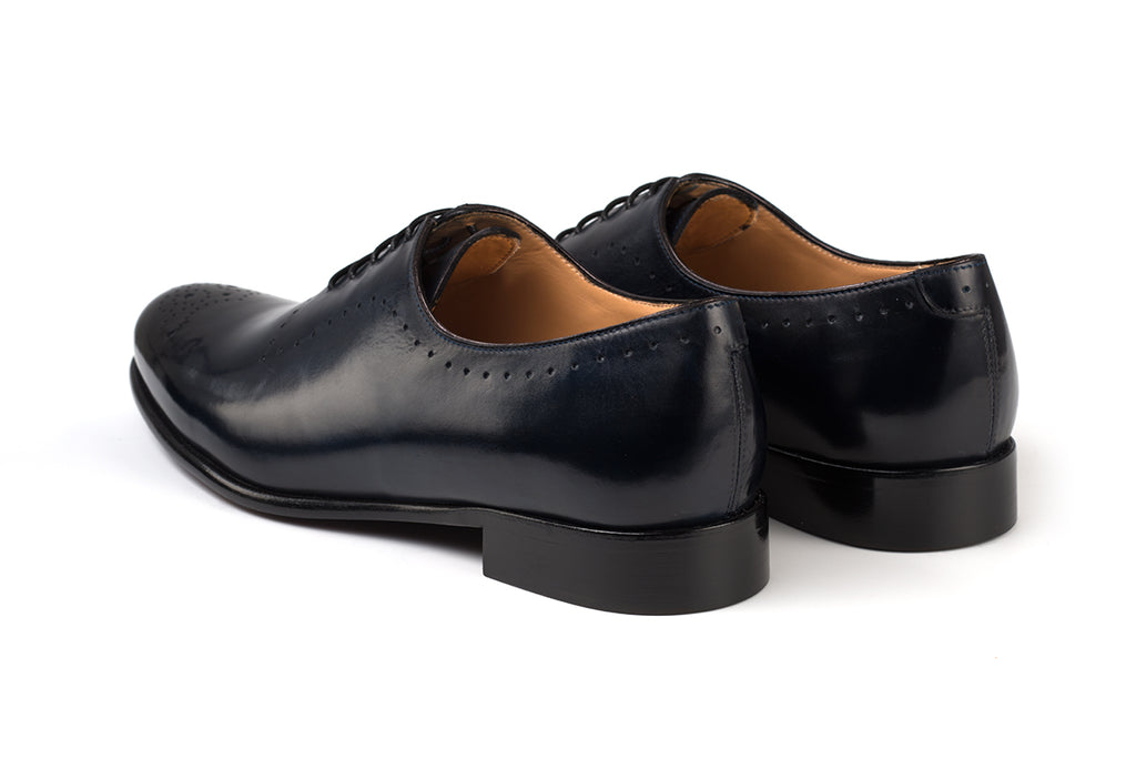AVIMA LEATHER SHOES DANTE - Blue