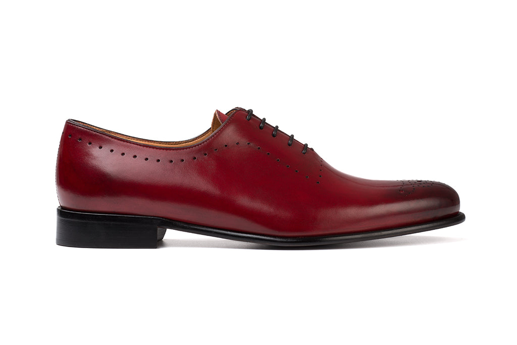 AVIMA LEATHER SHOES DANTE - RED BLADE