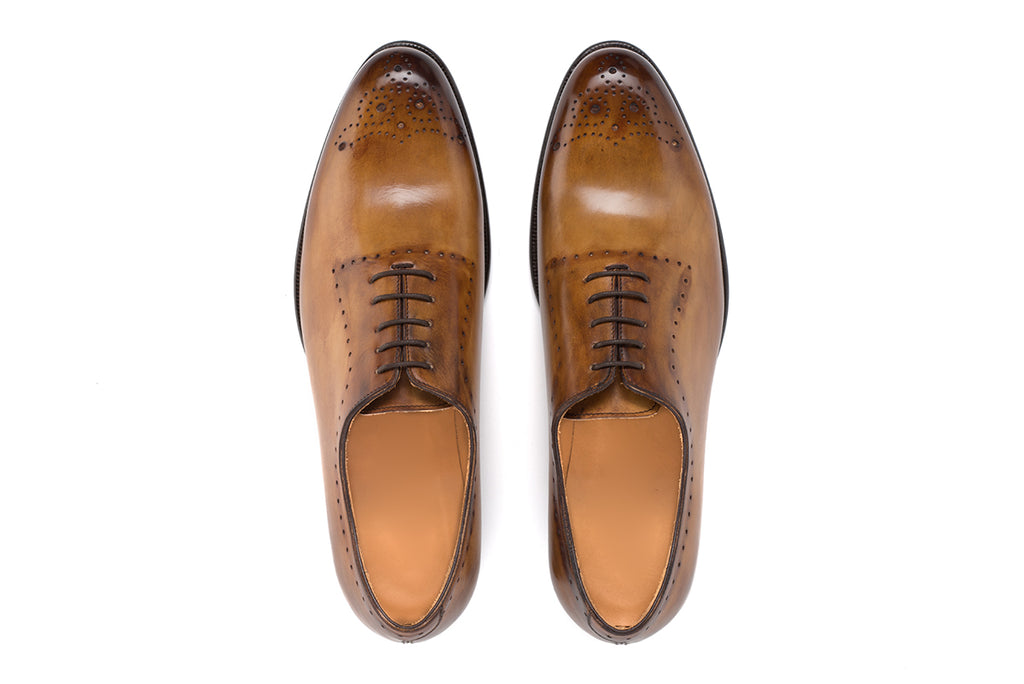 AVIMA LEATHER SHOES DANTE - Cuoio