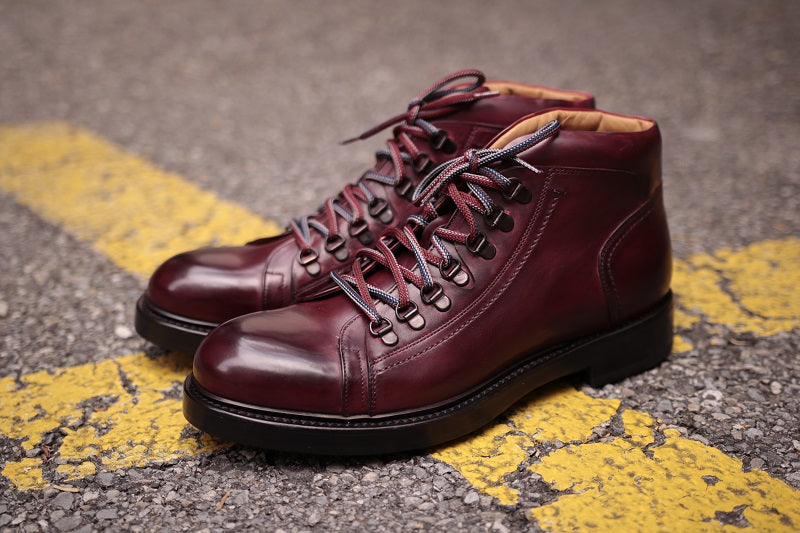 AVIMA LEATHER TROTTON BOOT - RED BLADE