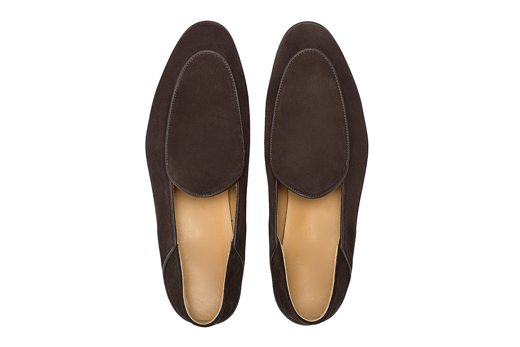 AVIMA LEATHER SHOES WILLIAM - Brown Suede