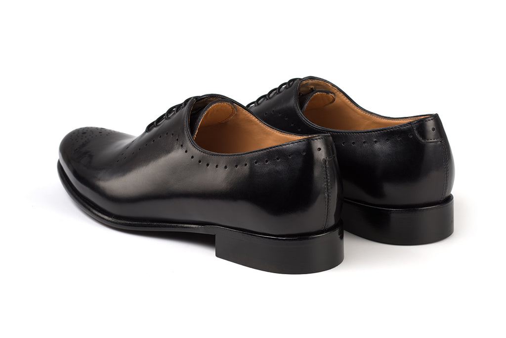 AVIMA LEATHER SHOES DANTE - NERO