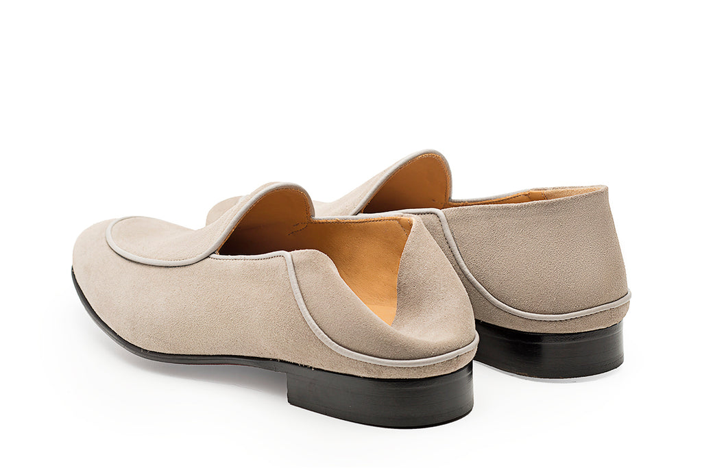 AVIMA LEATHER SHOES WILLIAM - Sand Suede