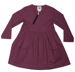 Baby & Toddler Emmy Girls Dress - Plum