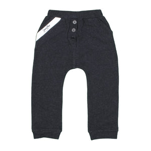 Baby and Toddler Boy's Cotton Lounge Pants - Charcoal