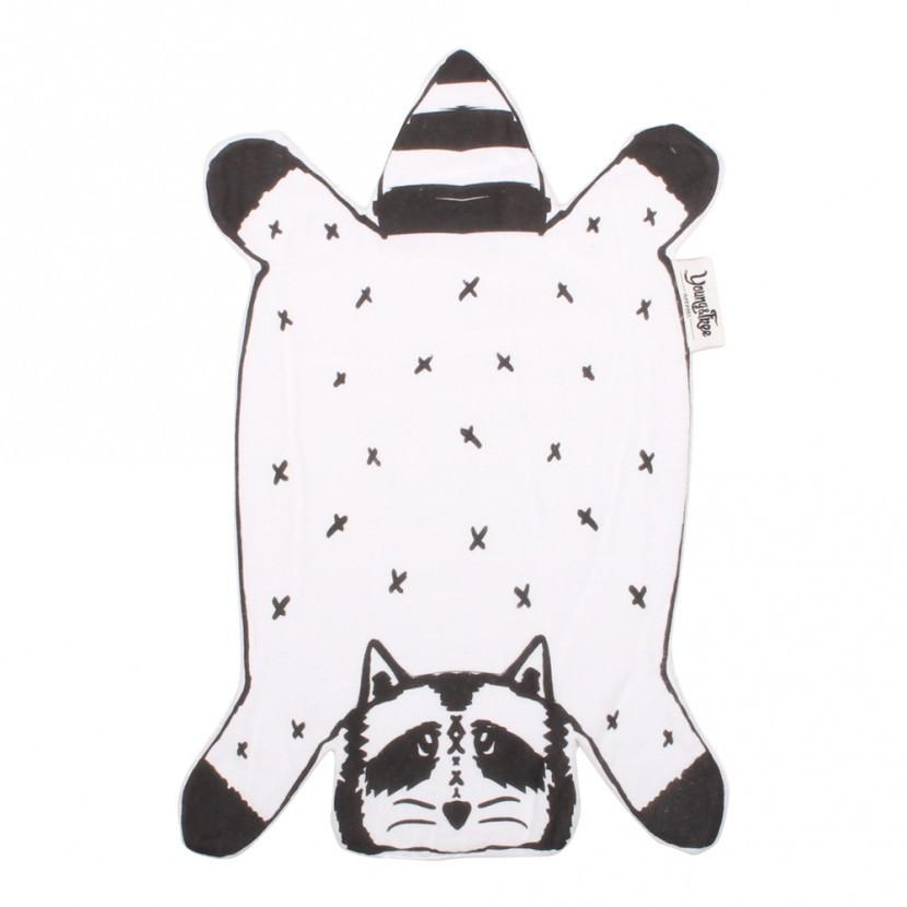 Dribble Droolers: Rocco the Raccoon Baby Burp Cloths