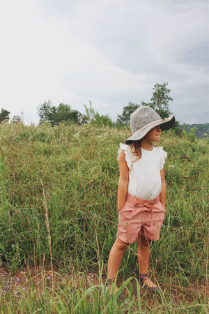Bermuda Shorts Blush