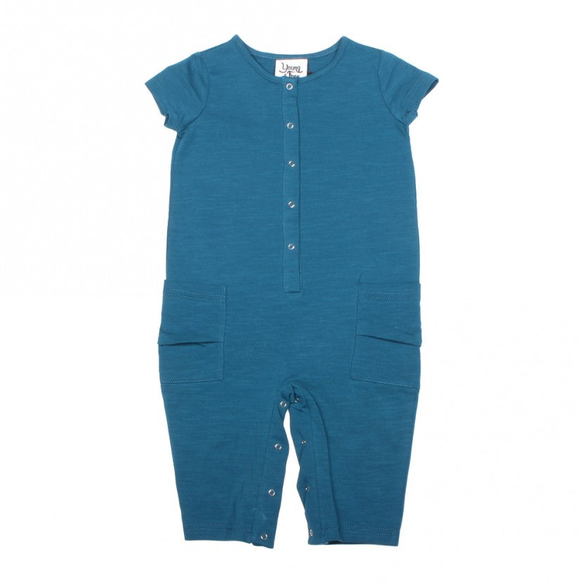 Aqua Boys Romper for Babies and Toddlers