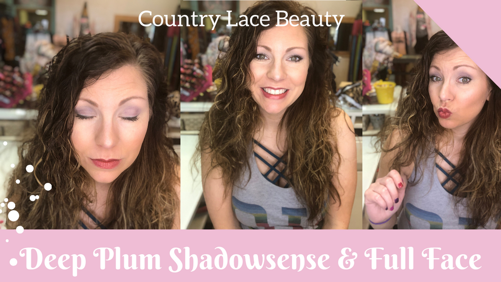 Deep Plum Shadowsense & Full Senegence Make Up Tutorial