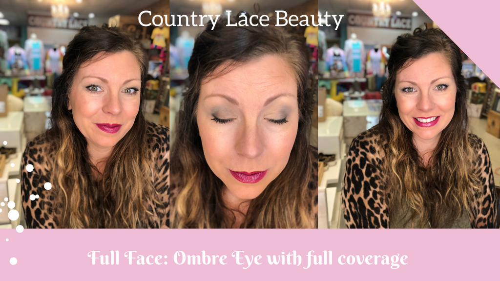 Full Coverage Face with Ombre Dark Eye