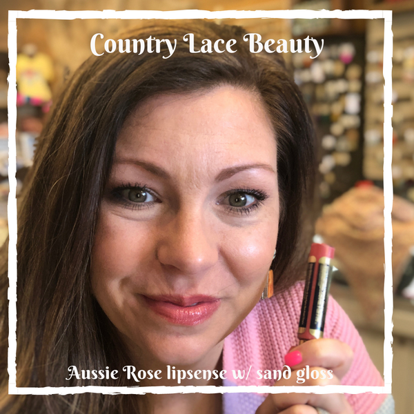 Aussie Rose Lipsense - Country Lace Boutique