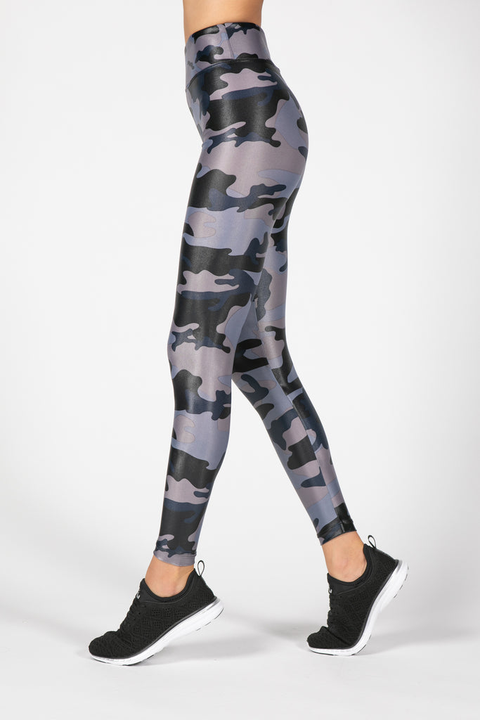 Lustrous High Rise Midnight Camo
