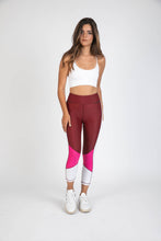 Blocked Crop Tight Berry