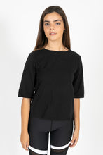 Alexis Tie up Tee Black