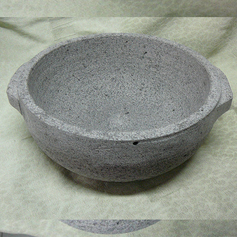 Stone cooking pot
