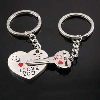 keychain and key ring couple