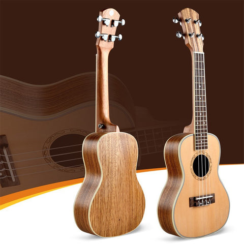 Spruce top 4 strings ukulele 24in concert