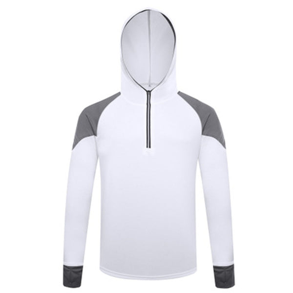 hooded long sleeve fishing shirts clothing for men