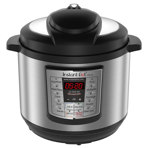 Instant Pot LUX80 8 Qt 6-in-1 Multi-Use Programmable Pressure Cooker, Slow Cooker, Rice Cooker, Saute, Steamer, and WarmerInstant Pot LUX80 8 Qt 6-in-1 Multi-Use Programmable Pressure Cooker, Slow Cooker, Rice Cooker, Saute, Steamer, and Warmer