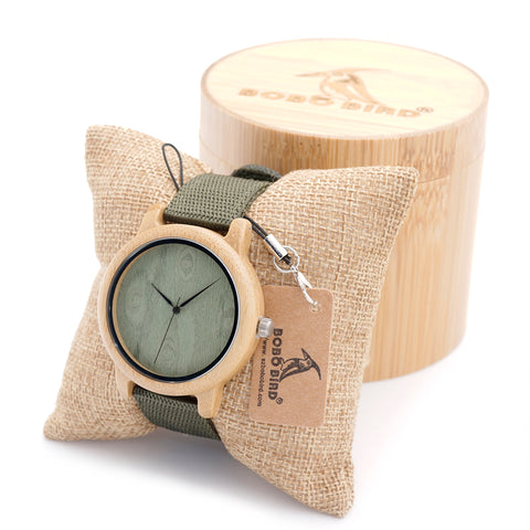 BOBO BIRD Bamboo Watches for Men and Women Luxury Wristwatches Japan
