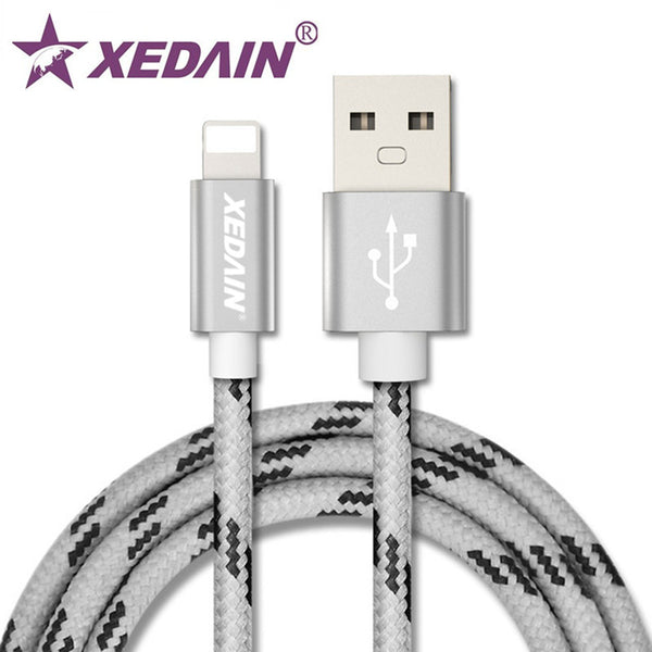 Power bank Combo With Braided Lighting Charger Cable, Dual USB Car Charger and 30000mah double USB power bank