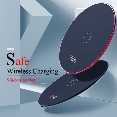 10W Qi Wireless Charger for iPhone 8/ 8 Plus/X Fast Wireless Charging Pad For Samsung Galaxy S8 S9 S7 Edge for Galaxy Note 8