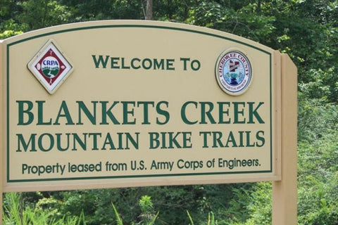 Blankets Creek Welcome Sign