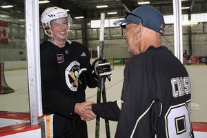 Crosby Shares Unique Connection with Cancer Patient