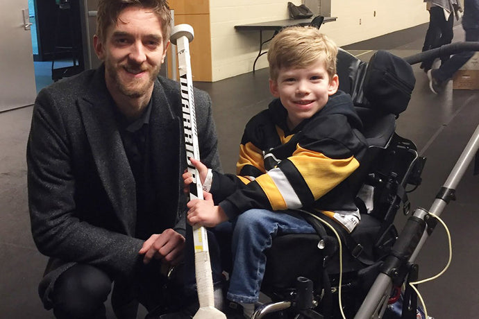 On Penguins' dads trip, Matt Murray could've shut down. Instead, he made a child's dream come true.