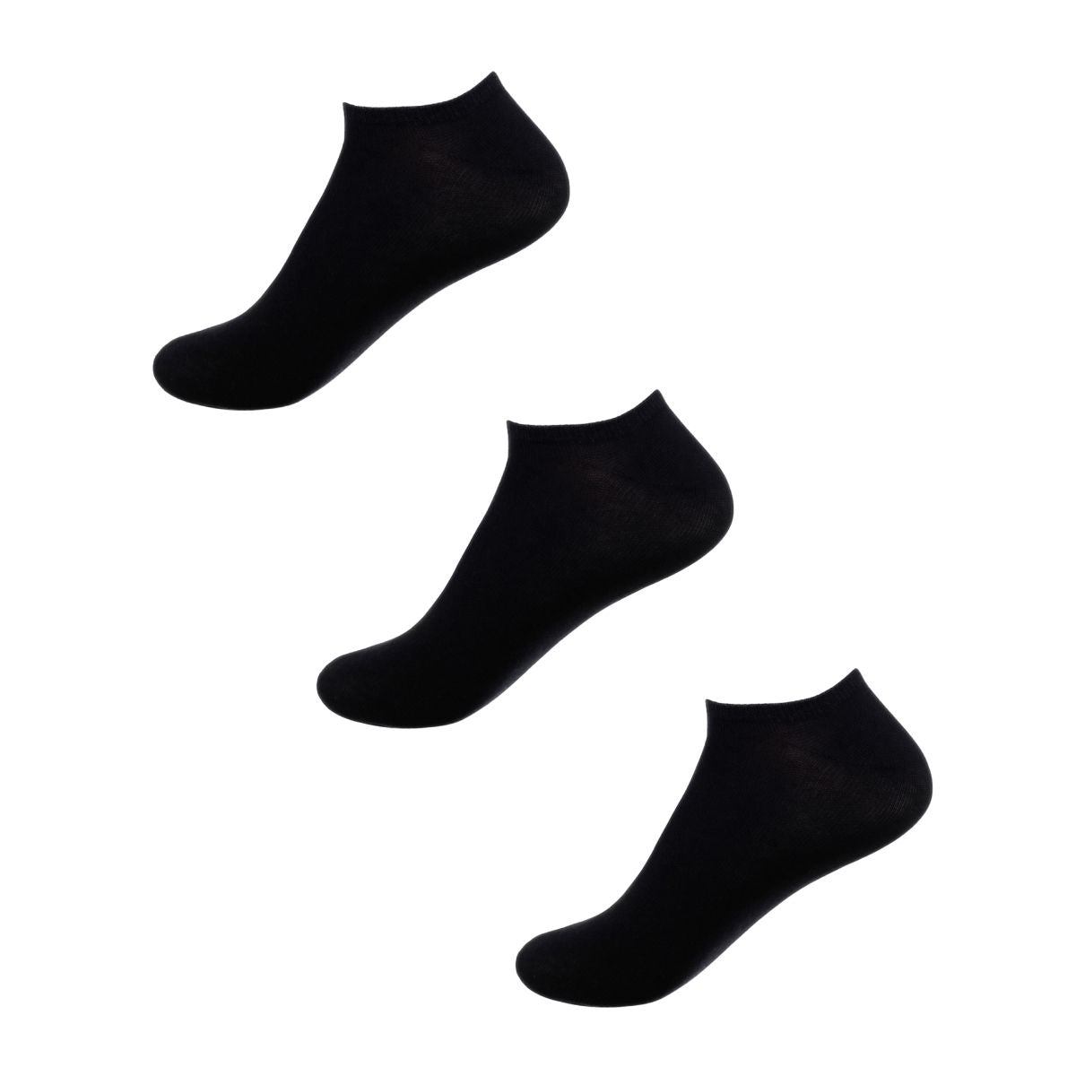 3 PACK of JettProof Seamless Feel Sensory Ankle Socks | Adult