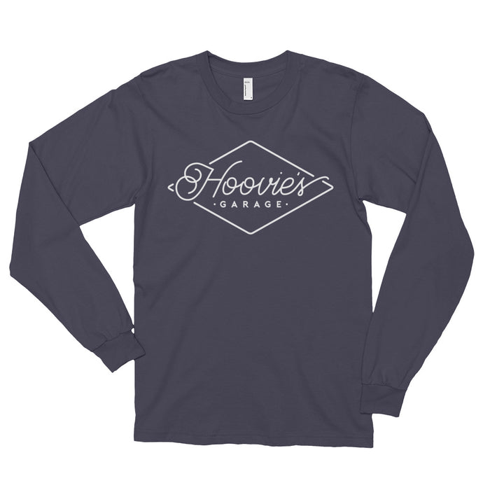 Hoovie's Garage logo long-sleeved t-shirt