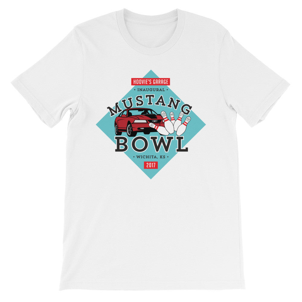 Hoovie's Garage Mustang Bowl t-shirt