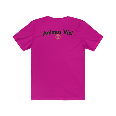 rose disc - Unisex Jersey Short Sleeve Tee