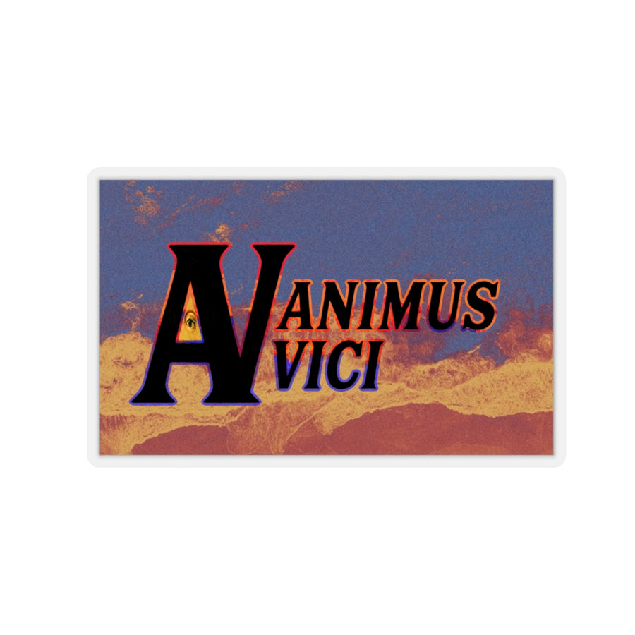 animus vici storm - Kiss-Cut Stickers