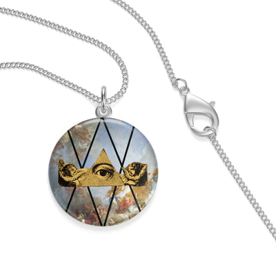 A.S.E. (all seeing eye) Necklace
