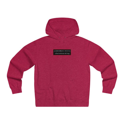 Animus Vici Skateboarding in 3D Red - Lightweight Pullover Hooded Sweatshirt