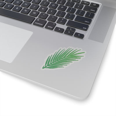 palm leaf - Kiss-Cut Stickers