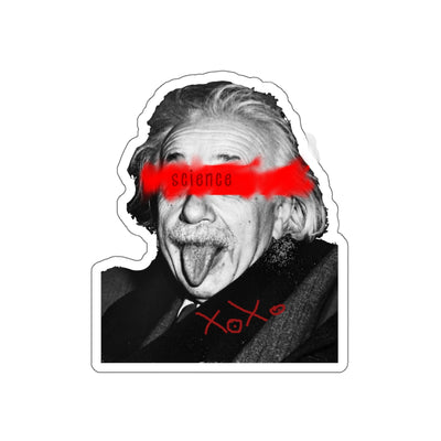 einstein Kiss-Cut Stickers