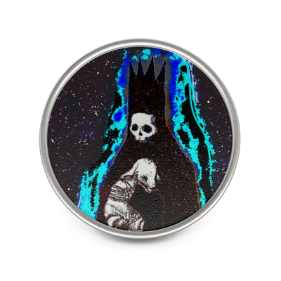 Deaths Dance Metal Pin