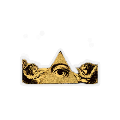 A.S.E. (all seeing eye) - Kiss-Cut Stickers