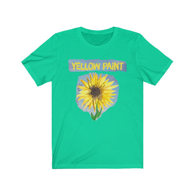 yellow paint (sunflower) - Unisex Jersey Short Sleeve Tee