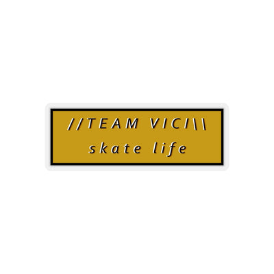 Team Vici Skate Life Stickers (skateboarding)