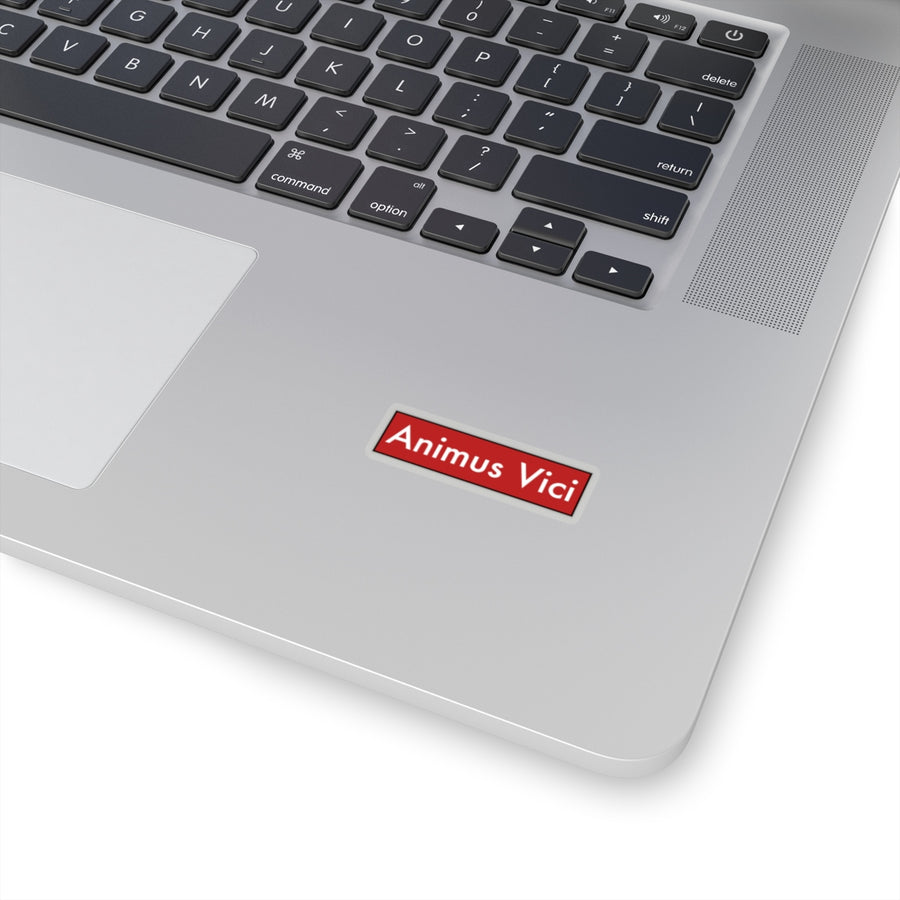 animus vici red - Kiss-Cut Stickers