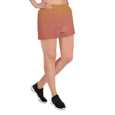 Summer Peach Women's Athletic Short Shorts (skateboarding)