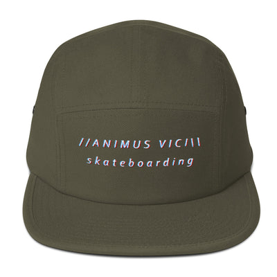 Animus Vici Skateboarding in 3D Five Panel Cap