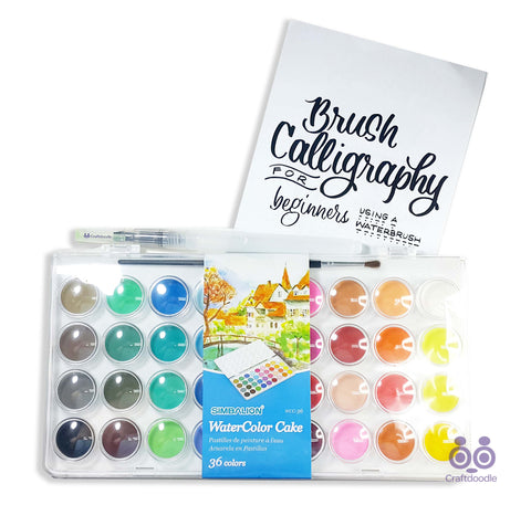 Watercolor Starter Bundle#3