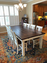 Load image into Gallery viewer, Monroe Farmhouse Table - Red Oak