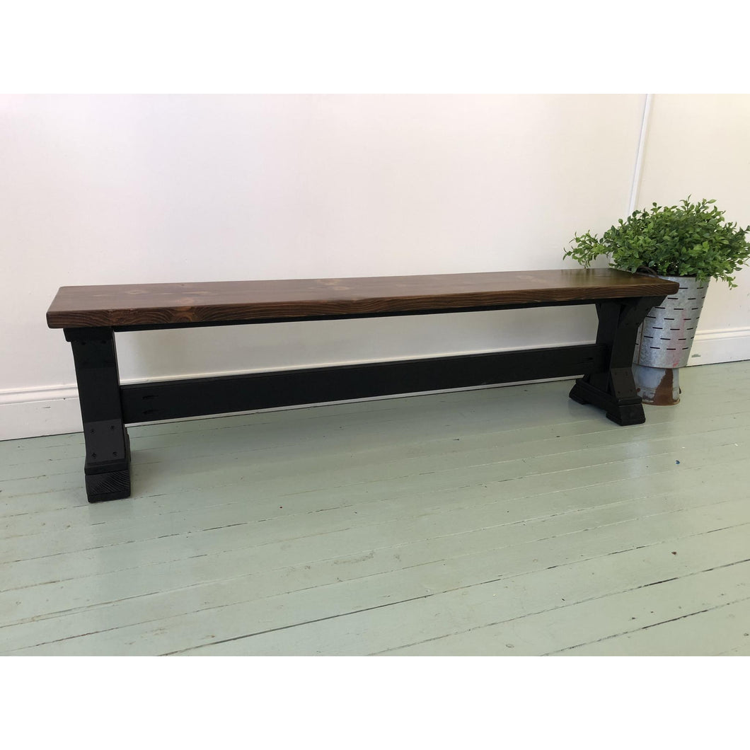 Derickson Bench - Red Oak