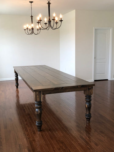 Samson Dining Table - Red Oak
