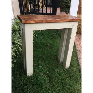 Farmhouse Hallway Table